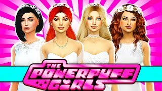 💘POWERPUFF GIRLS WEDDING PARTY & DRESS SHOPPING!👰💍 The Sims 4 Powerpuff Girls Power of Four Ep 31