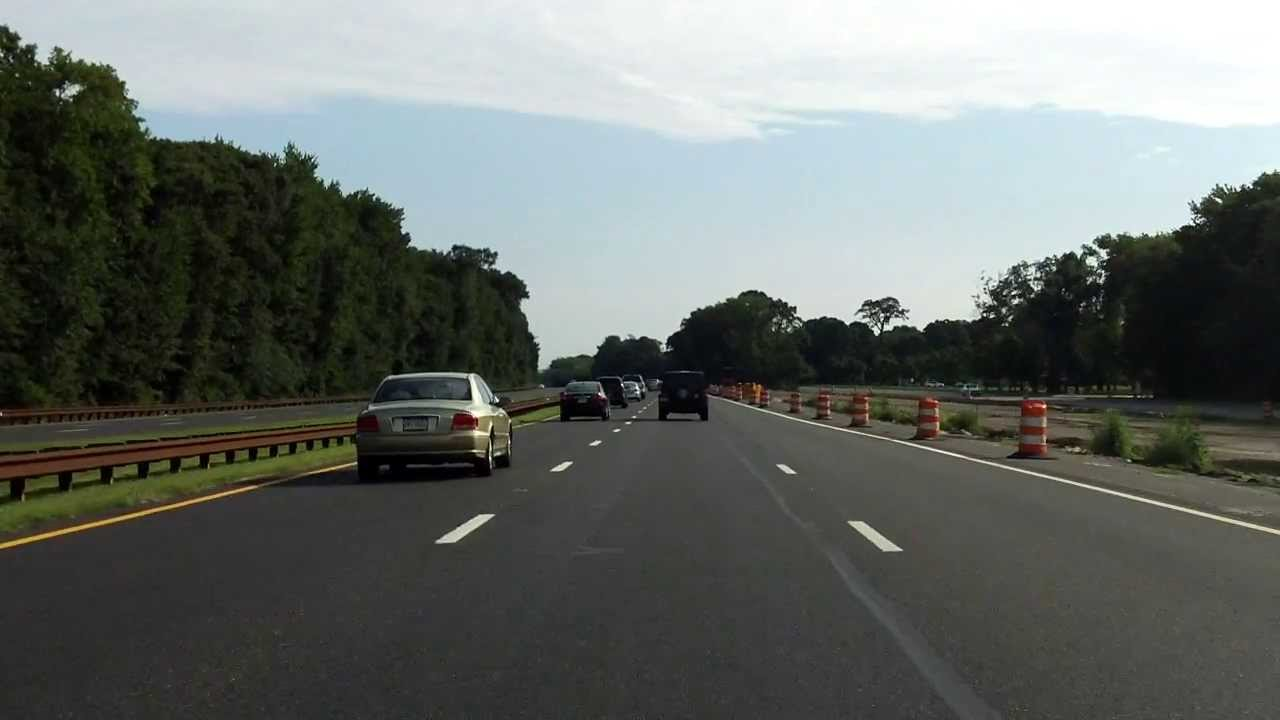 Garden State Parkway Exits 9 To 11 Northbound 2013