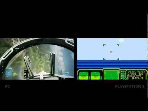 Comparación de las versiones de PC y PS3 de Battlefield 3 (Humor)