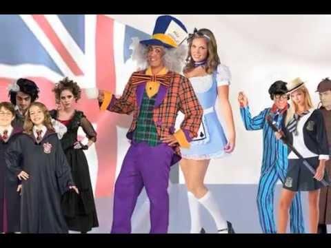 British Movie and TV Fancy Dress Costume Ideas