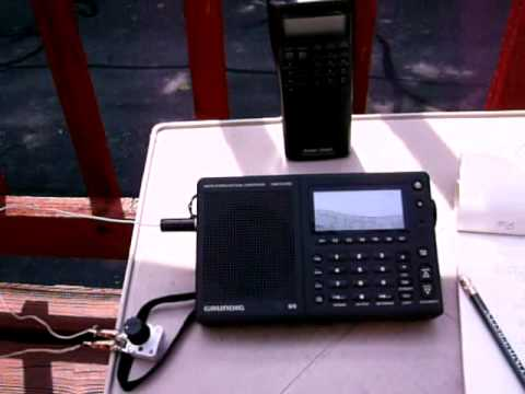 Grundig G5  Contesting Europe on 15 meters  08.20.2001 part2