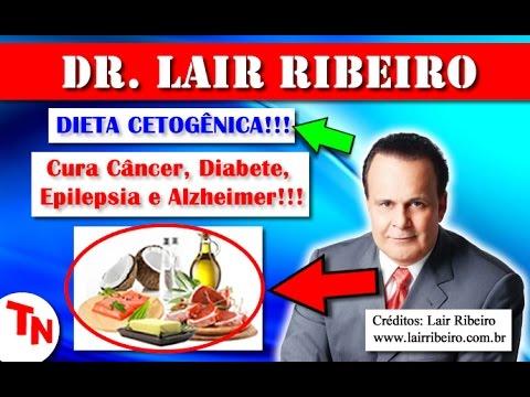DIETA CETOGÊNICA - Dieta Que Marcelo Rezende Iniciou Para Cura Do Câncer!!! (Lair Ribeiro)