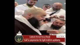 Irak ve Suriyede ki ışid fitnesi hakkında Cübbeli  Ahmet hocanın açıkaldığı yeni hadis-i şerifler