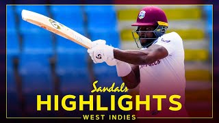 Highlights | West Indies v Sri Lanka | Brathwaite 85 Sets Up Final Day | 2nd Sandals Test Day 4 2021