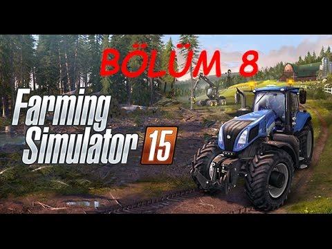 Farming simulator 15 прохождение - Хоррор - ферма (3 серия) Farming simulat