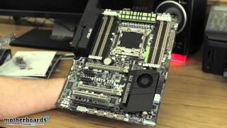ASUS Sabertooth X79 LGA 2011 Sandy Bridge-E Motherboard Unboxing