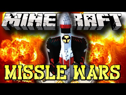 Minecraft MISSLE WARS, New 1.8 Mini-Game (3v3) w/Lachlan and Friends!
