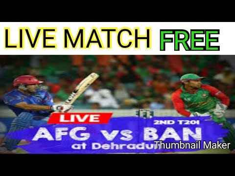 WATCH LIVE MATCH IN ANDORIDE BAN VS AFG LIVE MATCH