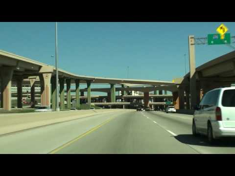 Video follows i-45 through the southside of dallas , continue's n through downtown , onto the central expressway us-75 through north dallas , the dallas high...