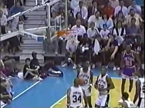 Patrick Ewing (27 pts/12 rebs) vs David Robinson (20 pts/6 rebs) - Highlights 1989/1990 Season