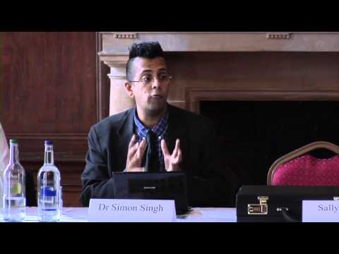 Challenge Sally Press Conference - Introduction and Dr. Simon Singh Talk/Q&A