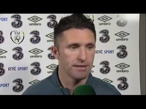 Republic of Ireland v Latvia - Post Match Interview - Robbie Keane (15/11/13)