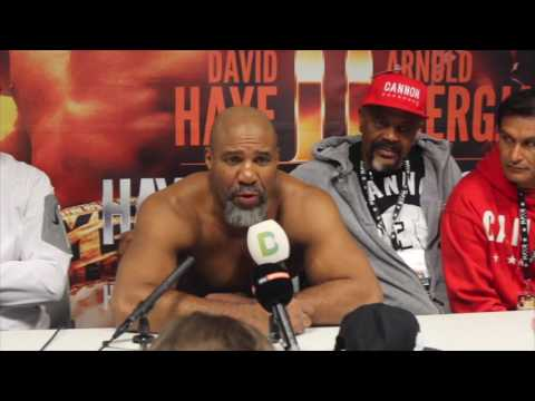 DAVID HAYE IS NEXT!! - SHANNON BRIGGS POST FIGHT PRESS CONFERENCE AFTER BRUTAL STOPPAGE OVER ZARATE