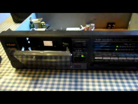 Kitchen Table Electronics Repair - A Tale Of Two Tape Decks - Part 1