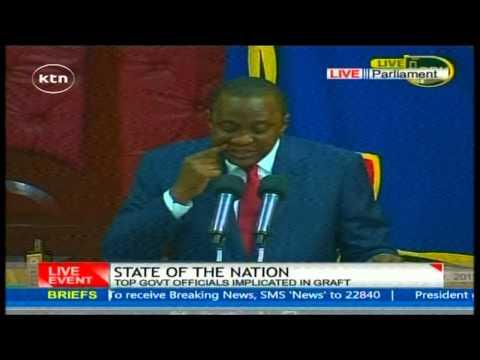 President Uhuru Kenyatta's State of the Nation full speech speech