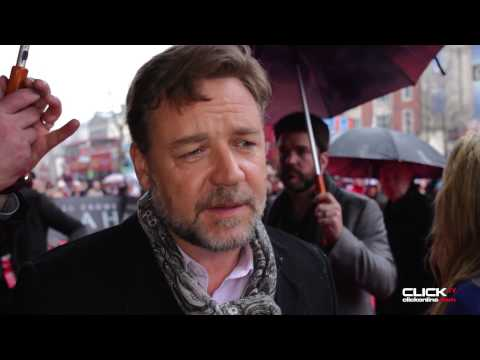 Russell Crowe 'Noah' Red Carpet Dublin