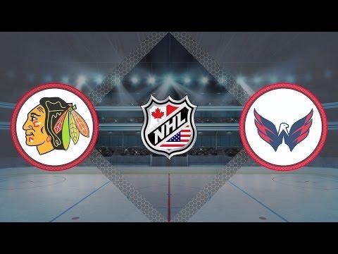 Обзор матча Чикаго - Вашингтон / BLACKHAWKS VS CAPITALS JANUARY 13, 2017 HIGHLIGHTS