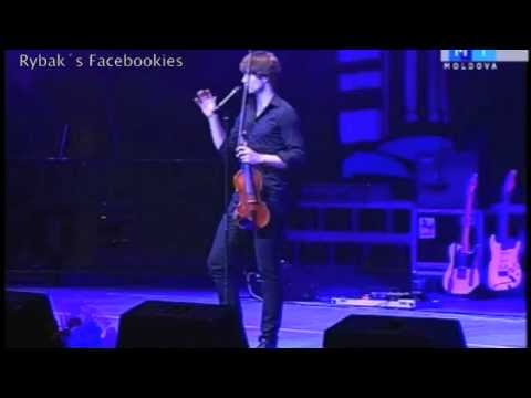 Alexander Rybak  - Leave me alone, Chisinau, 13.10.2012.
