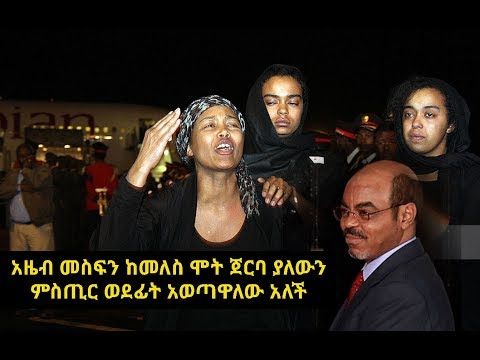 Azeb Mesfin On Meles Zenawi