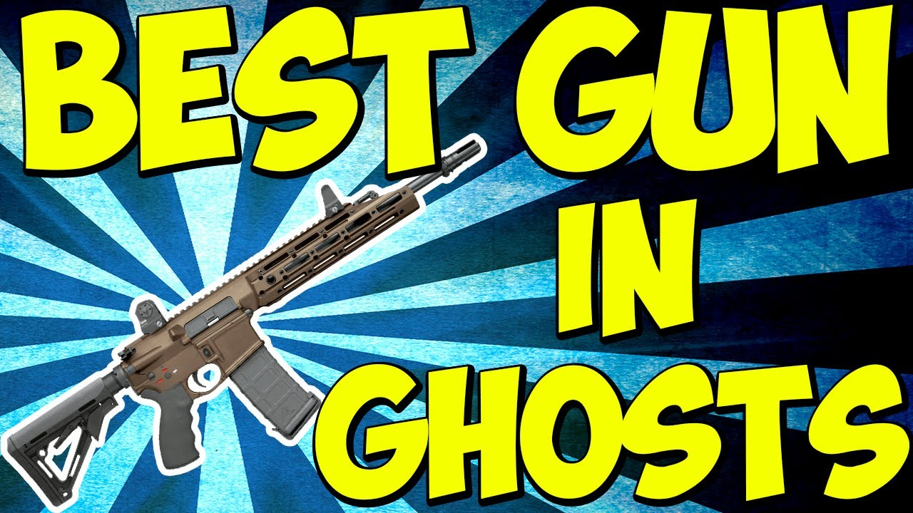 Call Of Duty Ghosts U0026quot BEST GUN U0026quot In Cod Ghosts BEST