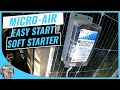 Micro-Air EasyStart 364 Install On Dometic AC - Run your RV ac on a small generator or solar setup