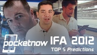 Top 5 Predictions for IFA 2012
