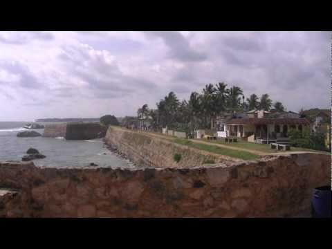 Inside the Dutch Fort in Galle Sri Lanka