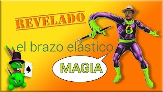 "SUPER TUTORIAL de Magia ""El estirabrazos"" REVELADO Elongated Arm REVEALED"