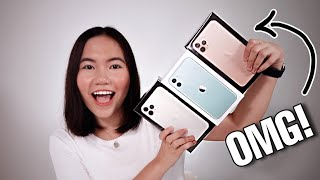 iPhone 11 & iPhone 11 Pro Max Unboxing! (PHILIPPINES)