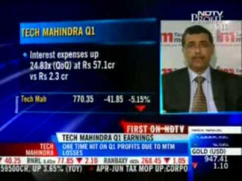NDTV Profit interview of Sonjoy Anand, CFO, Tech Mahindra