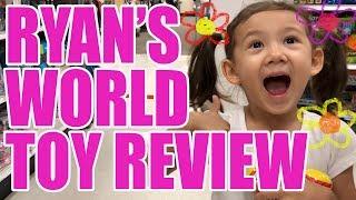 Min Min Reviews Ryan's World Toys