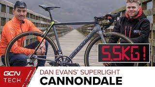 Dan Evans' Superlight Hillclimb Cannondale Supersix Evo Hi Mod