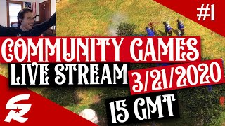 LIVE STREAM - Community Games & Fun! 3/21/2020 15GMT