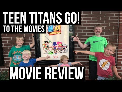 TEEN TITANS GO TO THE MOVIES | Teen Titans Movie Review | Family Fun | Big Adventure Fam