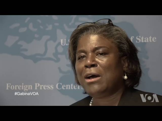 VOA Amharic Interview With Assistant Secretary of State for African Affairs Linda Greenfield
