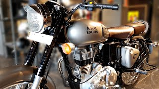 2018 Royal Enfield Classic 350 ABS Dual Disc | Gunmetal Grey | Price | Mileage | Features | Specs
