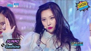 [HOT] SUNMI - Gashina 선미 - 가시나 Show Music core 20170902