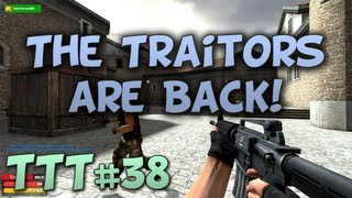 THE TRAITORS ARE BACK! - Trouble in Terrorist Town #38 w/Patrik