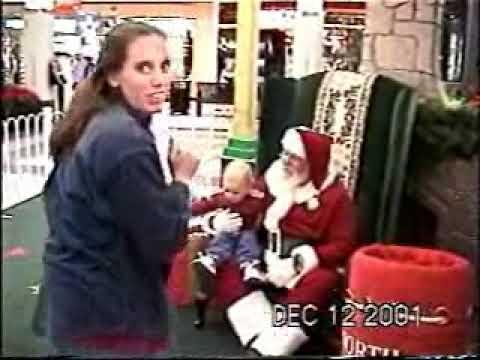 Santa Visit 2001
