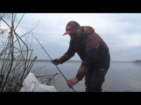 ловля плотвы весной на днепре на фидер видео