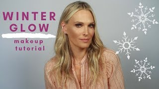 Everyday Makeup Routine For A Winter Glow | Molly Sims