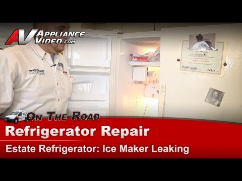 Whirlpool Leaking Refrigerator Repair How To Save Money And Do It ...