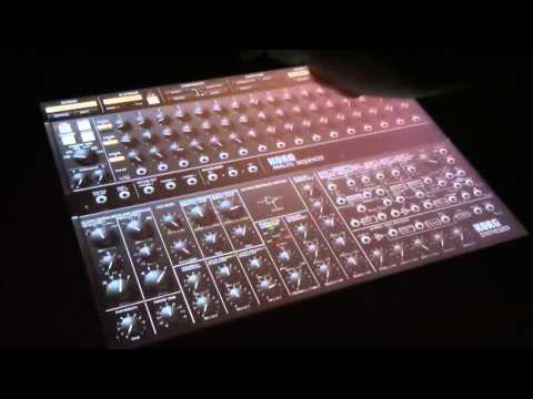 "TRON: LEGACY - Daft Punk's ""Derezzed"" Played by KORG iMS-20 for iPad"