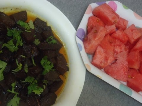 """Watermelon Curry"" & Its Health Benefits"