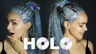 Holo Hair Transformation: A Holographic Hair Tutorial - KayleyMelissa