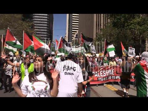 Pro-Gaza Protest in San Francisco (Part 4)
