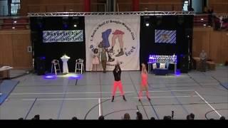 Rebekka Stahl & Nicolai Schneickert - Landesmeisterschaft Bayern 2017