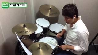 "[Lv.6-2] ""Rolling In The Deep-Adele"" Drum Cover(미치도록쉬운드럼1-삼호ETM)"