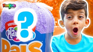 Learning with Colors Playfoam Pals | Fun Giant Surprise Egg Unboxing
