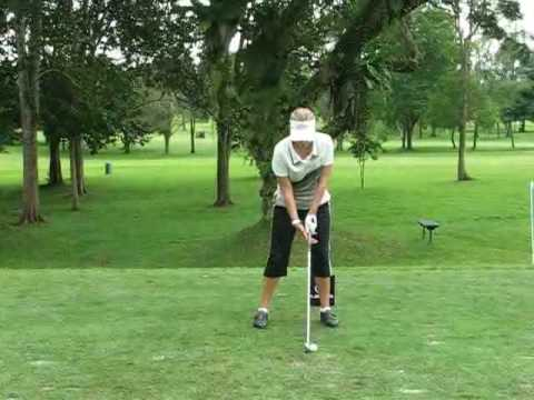 Lexus Cup 2008 - Ranging Roving with Cristie Kerr (Front View) Video